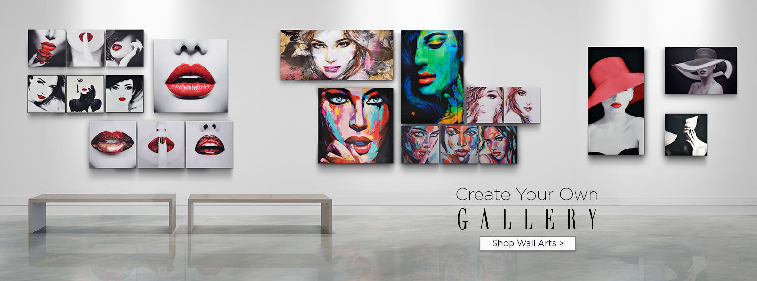 Create your own gallery. Shop wall art.