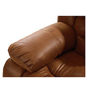 Wrangler Tan Recliner Sofa  alternate image, 5 of 5 images.