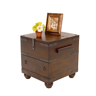 Santa Fe Trunk Side Table