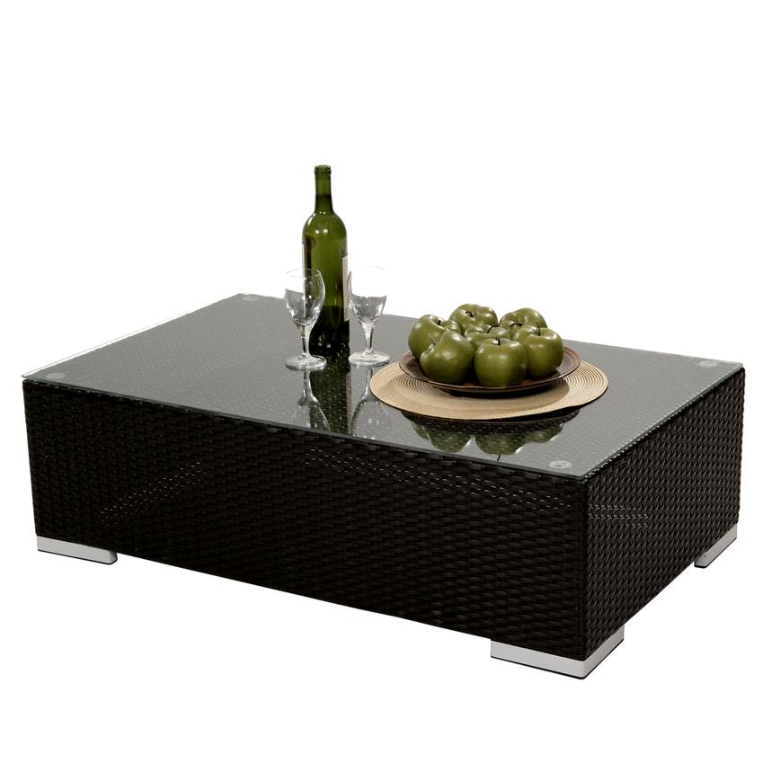 Neilina Black Coffee Table  main image, 1 of 7 images.