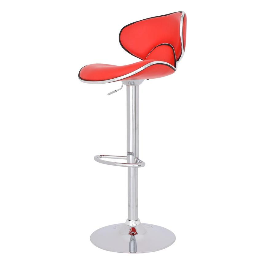 Clipper Red Adjustable Stool  alternate image, 4 of 7 images.