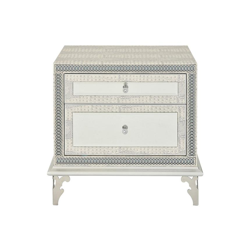 Hollywood Swank Pearl Nightstand  main image, 1 of 10 images.