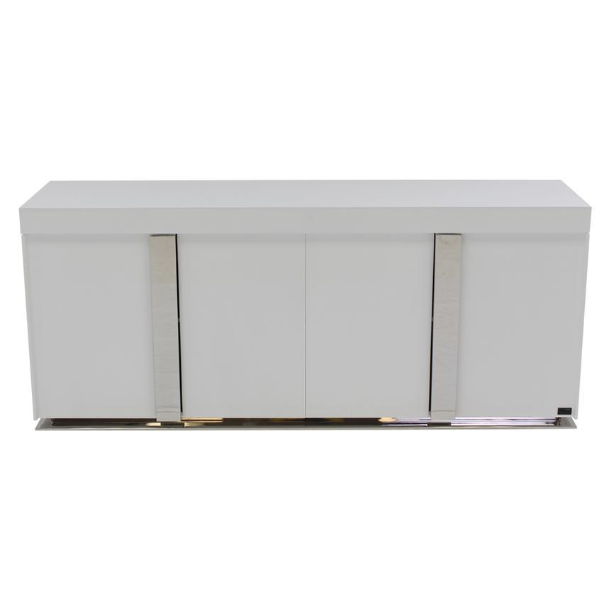 Grand night white gloss buffet el dorado furniture for Sideboard xenia