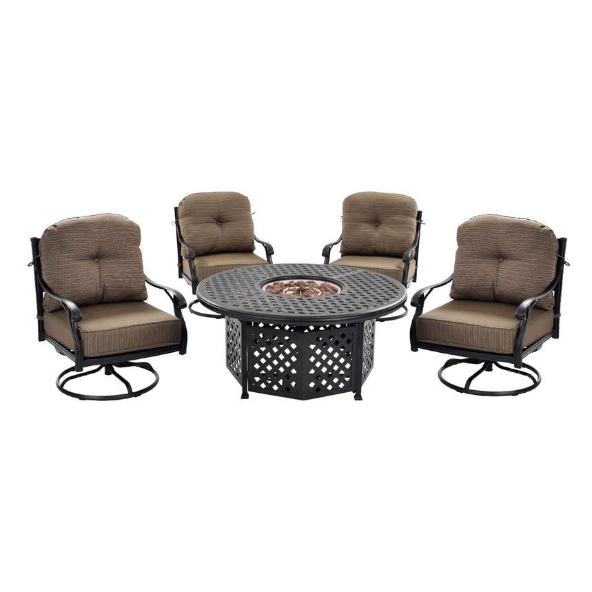 Castle Rock Brown Swivel Chair