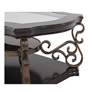 Seville Coffee Table w/Casters  alternate image, 4 of 6 images.