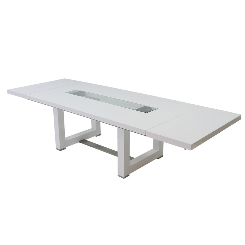 Novo White Extendable Dining Table  alternate image, 5 of 6 images.