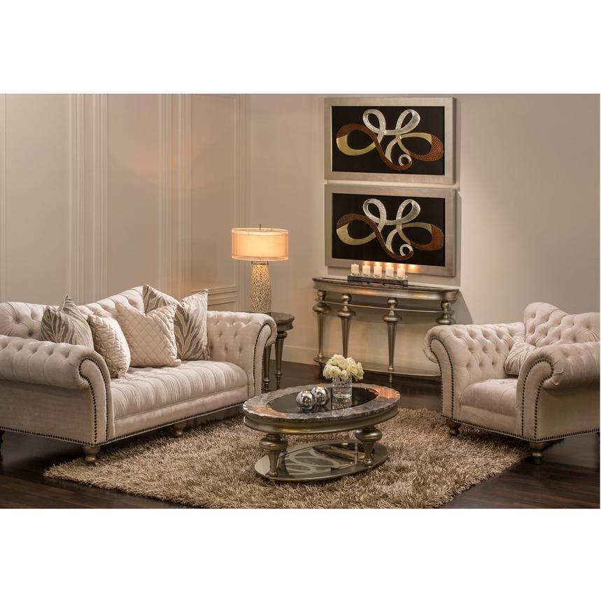 Laura Cream Sofa El Dorado Furniture, El Dorado Furniture Miami