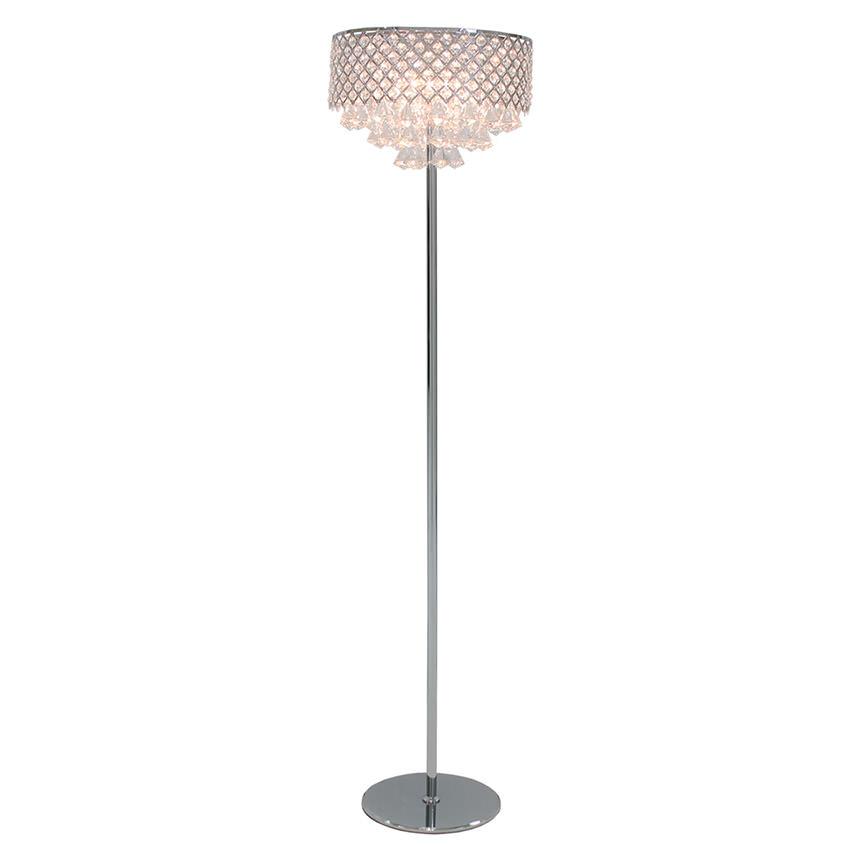 Crystals floor lamp el dorado furniture crystals floor lamp main image 1 of 5 images aloadofball Choice Image