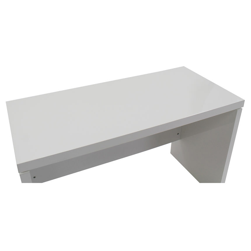Sedona White L-Shaped Desk Made in Italy  alternate image, 4 of 5 images.