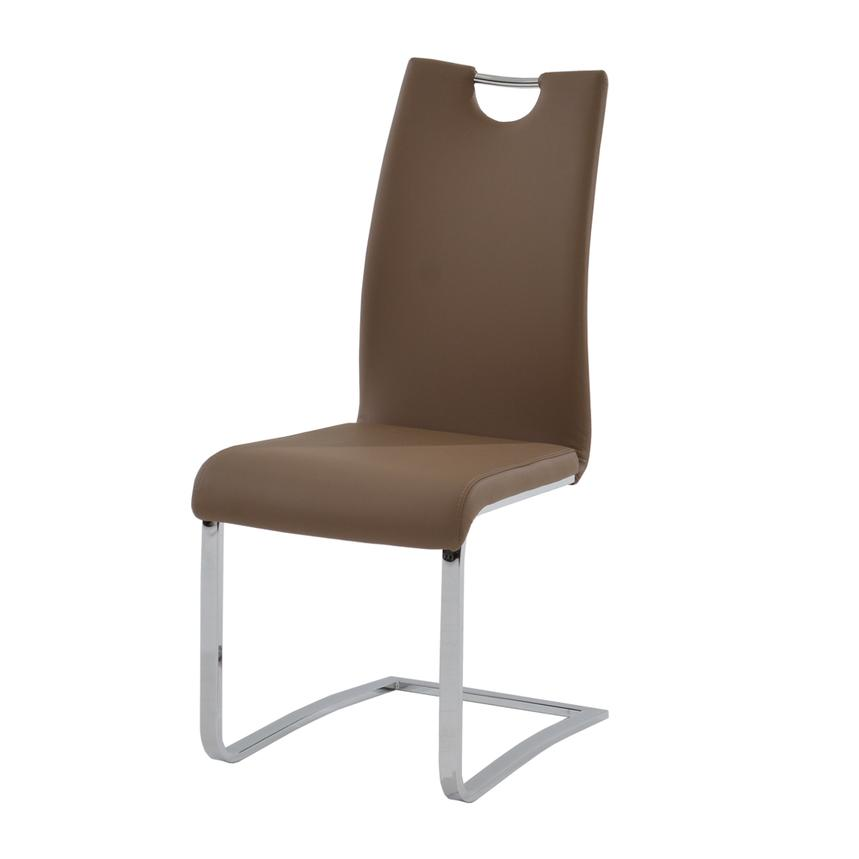 Josseline Taupe Side Chair  main image, 1 of 4 images.