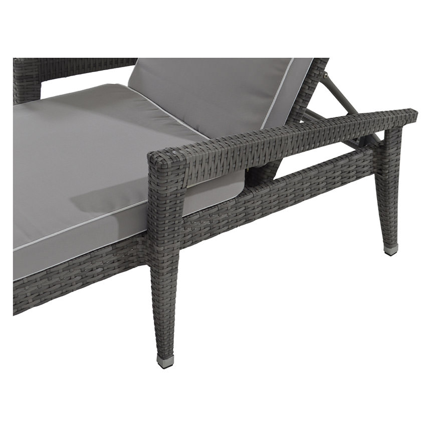 Neilina Gray Chaise Lounge El Dorado Furniture