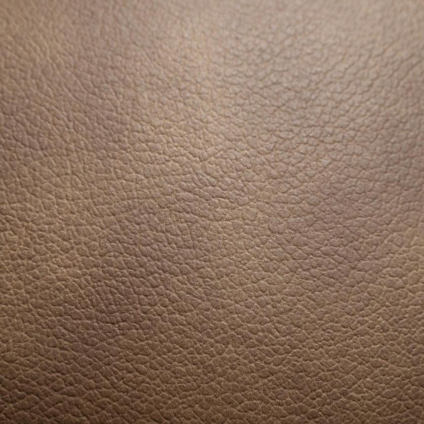 Jedda Camel Leather Loveseat  alternate image, 10 of 10 images.