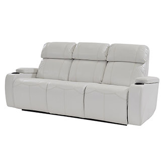 Magnetron White Power Motion Sofa