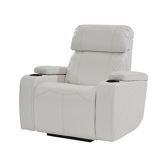 Magnetron White Power Motion Recliner
