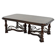 Opulent Extendable Dining Table  main image, 1 of 8 images.