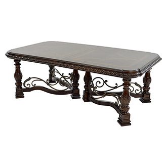 Opulent Extendable Dining Table