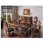 Opulent Extendable Dining Table  alternate image, 2 of 8 images.