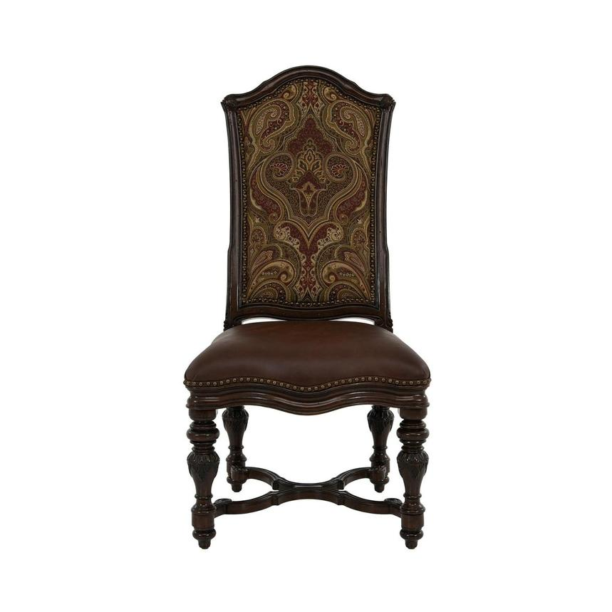 Opulent Side Chair  main image, 1 of 8 images.