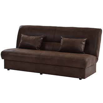 Regata Brown Futon w/Storage