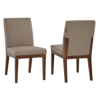 Suria Taupe Side Chair