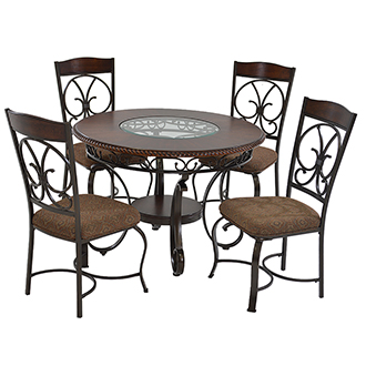 Glambrey 5-Piece Casual Dining Set