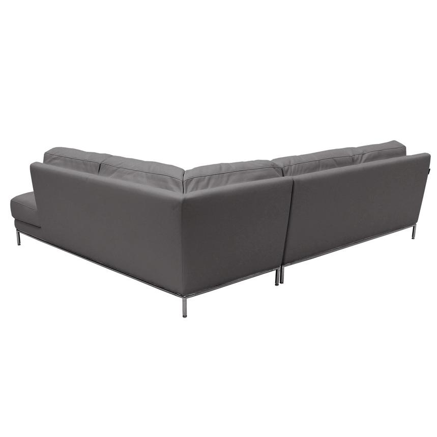 Cantrall Dark Gray Corner Sofa w/Right Chaise  alternate image, 3 of 8 images.
