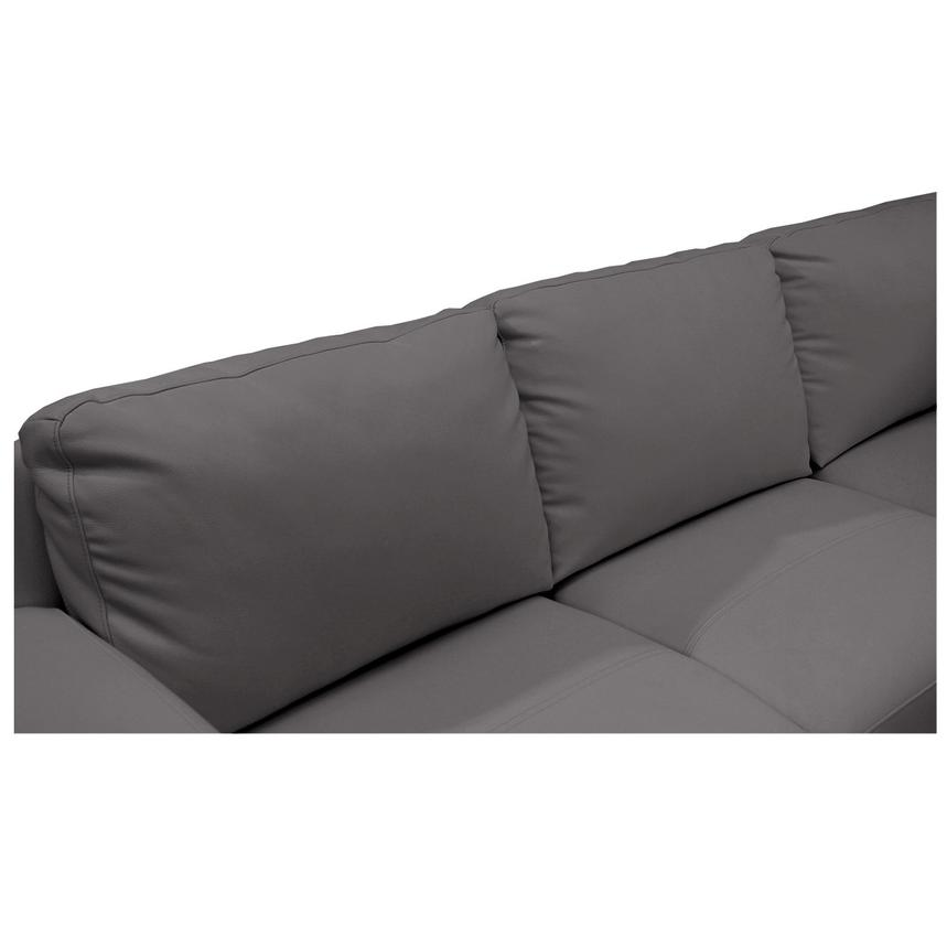 Cantrall Dark Gray Sofa w/Right Chaise  alternate image, 5 of 6 images.