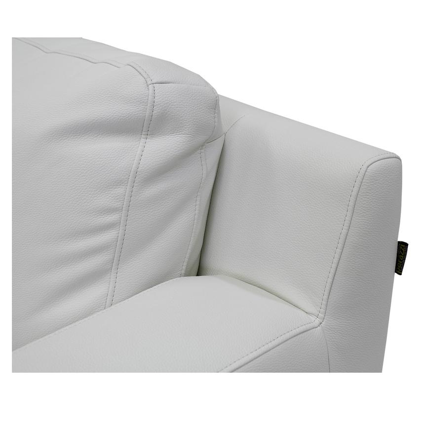 Cantrall White Chair  alternate image, 5 of 6 images.
