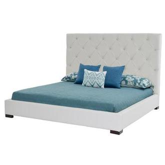 Crystal Queen Platform Bed