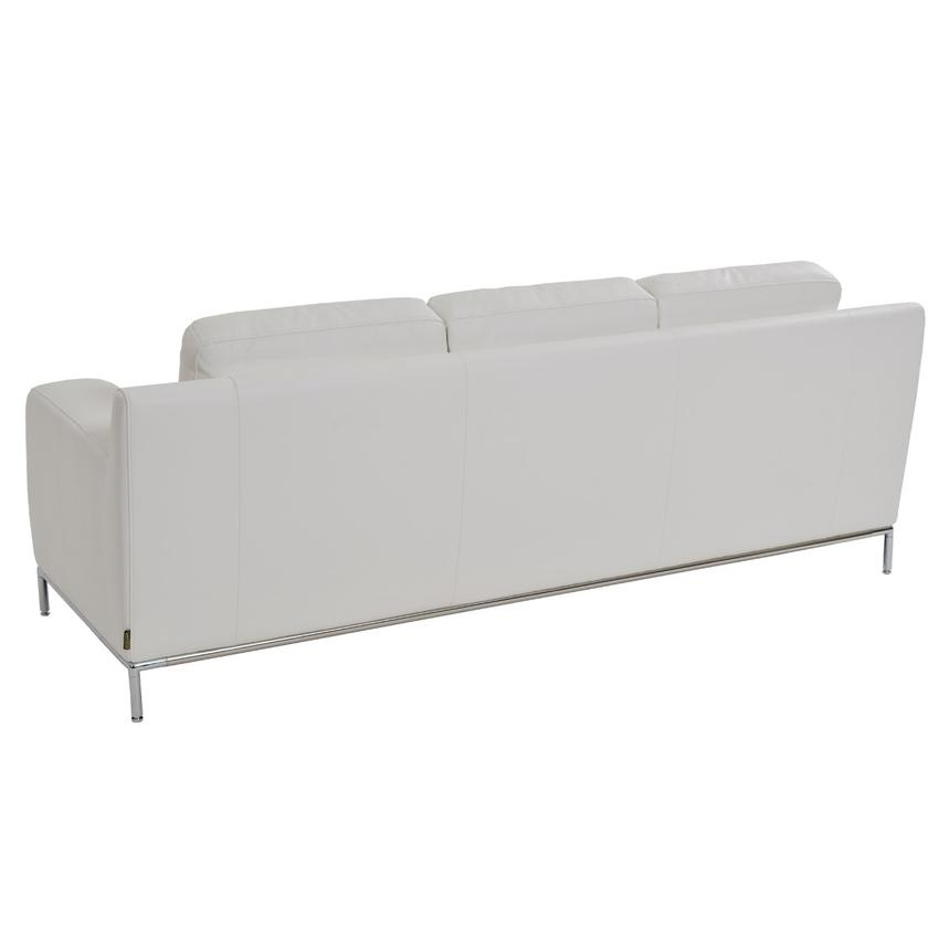 Cantrall White Sofa  alternate image, 4 of 8 images.
