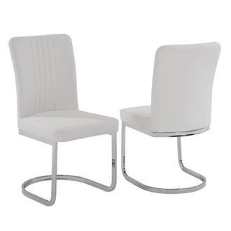 Alina White Side Chair