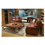 Abilene Power Motion Leather Sofa  alternate image, 2 of 7 images.