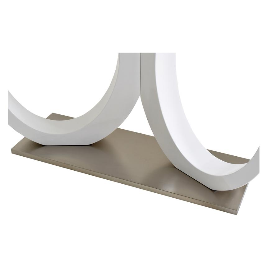 Stop 36 White Console Table  alternate image, 4 of 4 images.