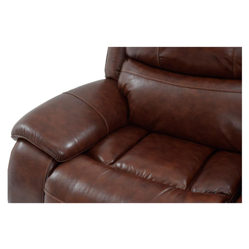 Abilene Leather Power Reclining Sofa  alternate image, 8 of 8 images.