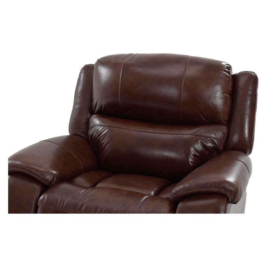 Abilene Leather Glider Recliner  alternate image, 5 of 9 images.