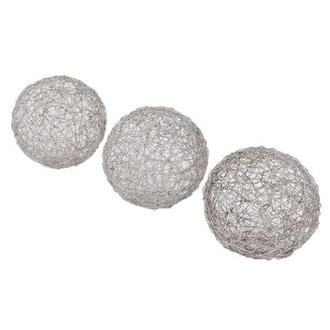Wire I Set of 3 Spheres