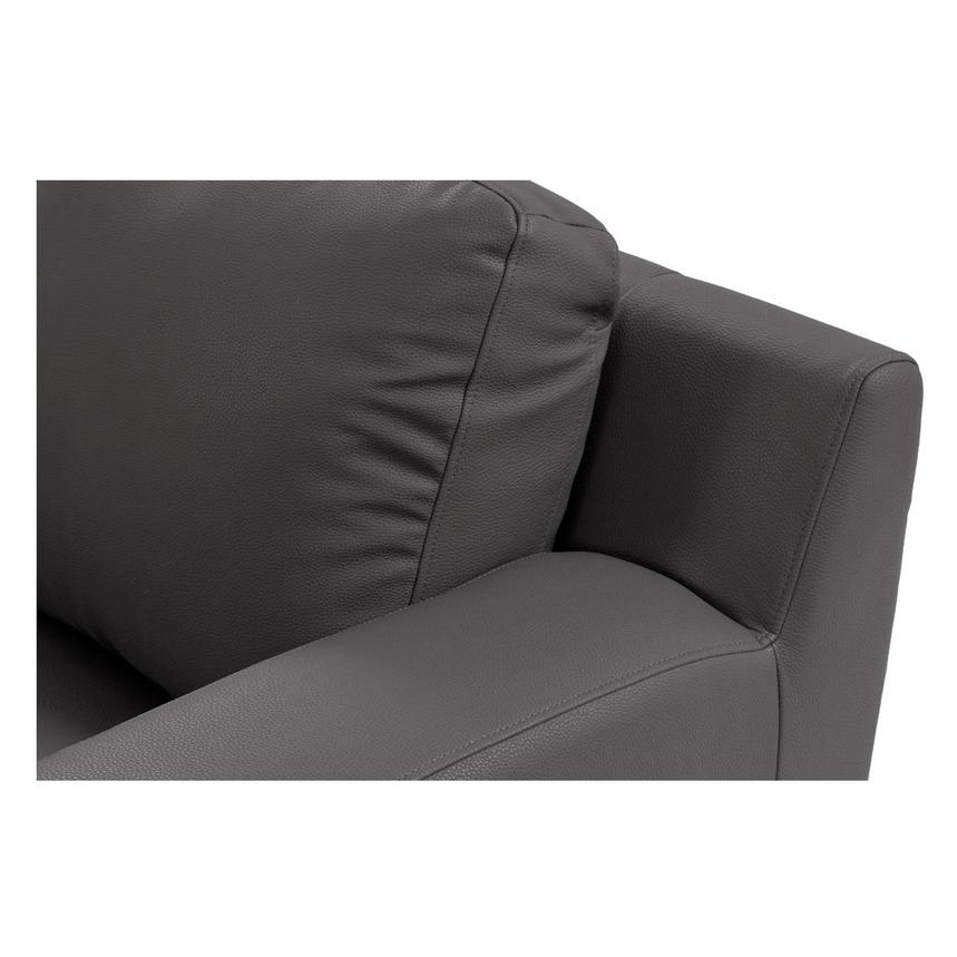 Cantrall Gray Loveseat  alternate image, 5 of 8 images.
