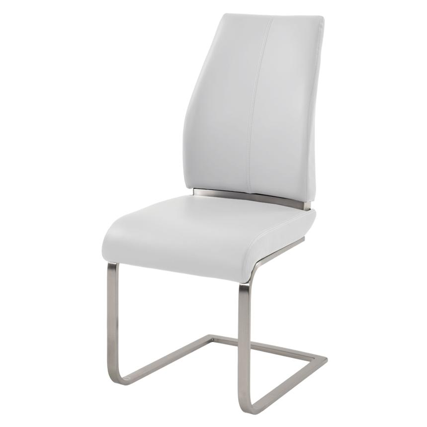 Maday White Side Chair  main image, 1 of 4 images.