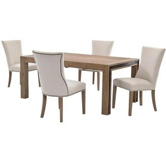 Pinot/Riverdale 5-Piece Formal Dining Set