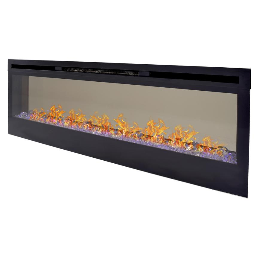 Concord Wall-Hanging Electric Fireplace w/Remote Control  main image, 1 of 8 images.