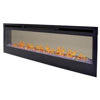 Concord Wall-Hanging Electric Fireplace w/Remote Control