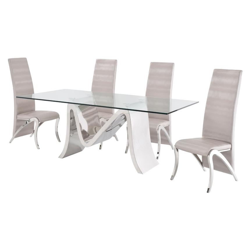 Maverick 5-Piece Formal Dining Set  alternate image, 4 of 12 images.