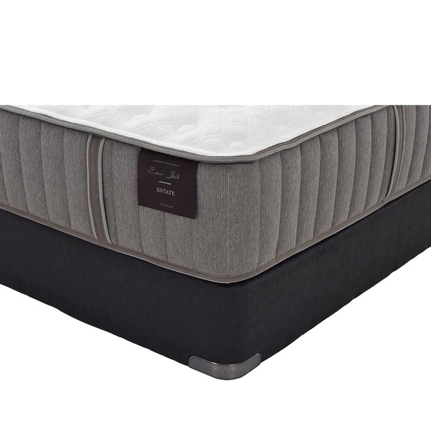 Oak Terrace II Queen Mattress Set w/Regular Foundation by Stearns & Foster  main image, 1 of 5 images.