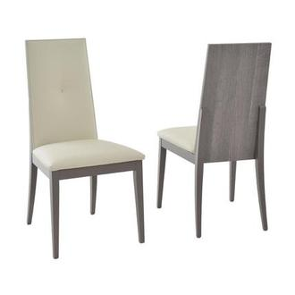 Tivo Gray Side Chair Made in Italy