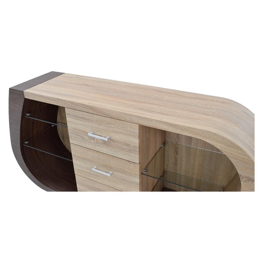 Serpentine buffet el dorado furniture for Sideboard xenia