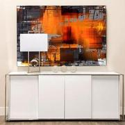 Orange Crush Acrylic Wall Art  alternate image, 2 of 2 images.