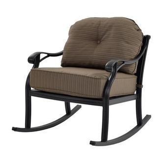 Castle Rock Brown Rocking Chair
