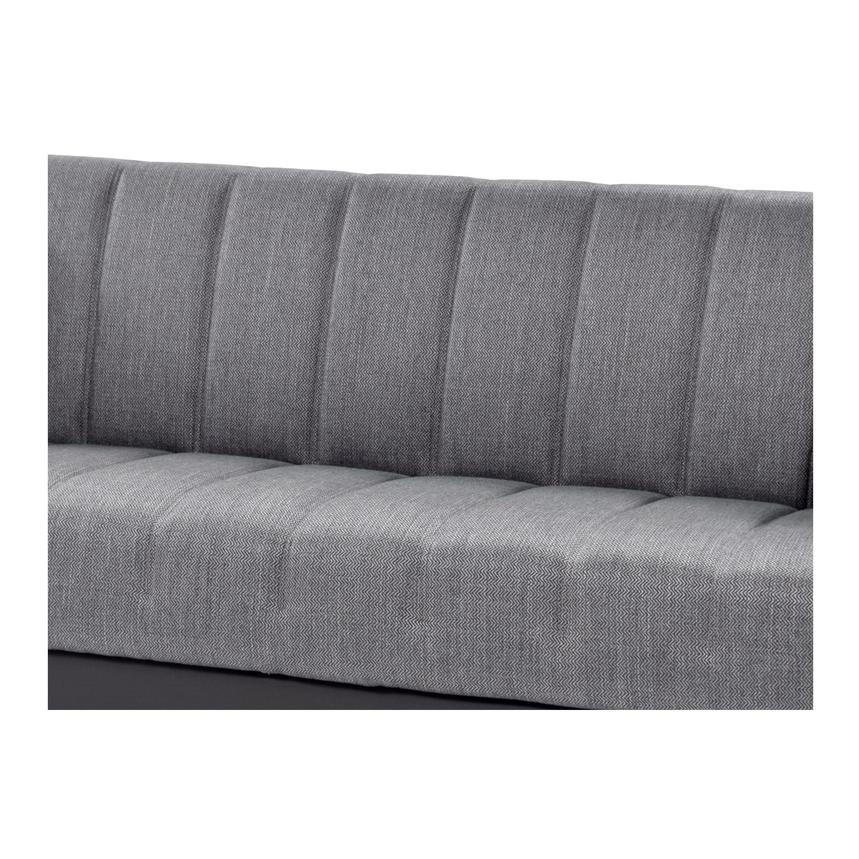 Sidney Gray Futon w/Storage  alternate image, 6 of 8 images.