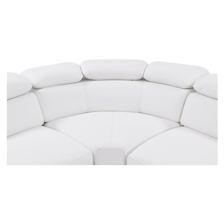 Tesla White Leather Sofa El Dorado Furniture