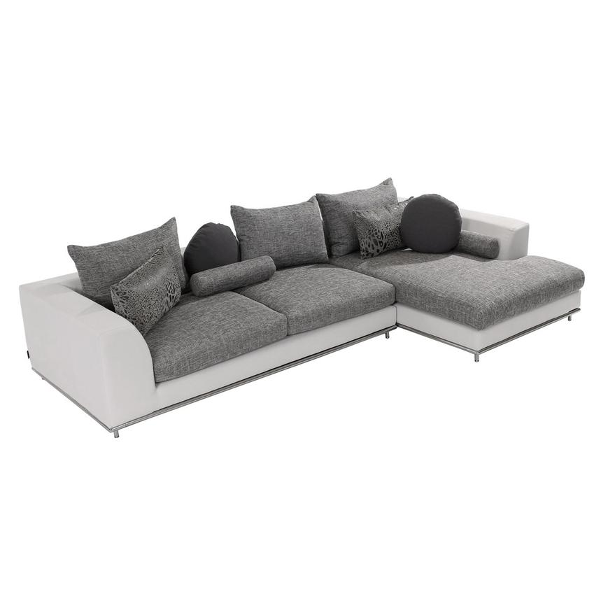 Hanna Sectional Sofa w/Right Chaise  main image, 1 of 10 images.